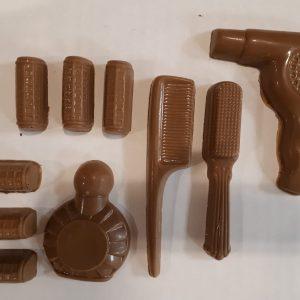 Chocolade kappersset