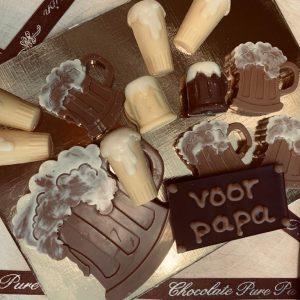 Chocolade bierpakket brievenbus