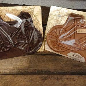 Chocolade wielrenfiets melk of puur