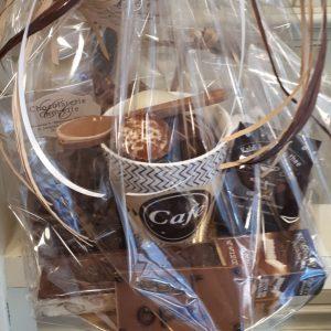 Luxe chocolade koffiepakket met echte verse koffiebonen