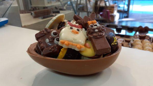 chocolade paasei thuisbezorgen