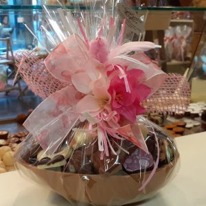 Chocolade paasei Large