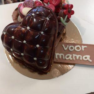 Moederdag chocolade doosjes met bonbons